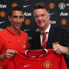 PHOTOS: DI MARIA IN MANCHESTER UNITED JERSEY, SIGNS 5-YEAR £59.7 MILLION CONTRACT
