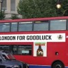 """""""LONDON FOR GOODLUCK"""" BUS """"SIGHTED"""""""