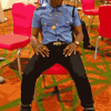 KCEE ROCKS 'NIGERIA POLICE' INSPIRED OUTFIT