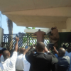 NATIONAL ASSEMBLY UNDER SIEGE , TAMBUWAL TEARGASSED