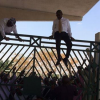 VIDEO: LAWMAKERS JUMPING OVER THE GATE OF NATIONAL ASSEMBLY