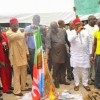 YOUTHS BURNS APC FLAGS IN IMO