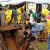 PHOTOS OF CRASHED GEJ RICE TRUCK