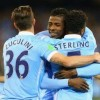 Iheanacho , Sterling score as Manchester City defeats Roma
