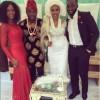 Photos: Lilian Esoro & Ubi Franklin in Igbo Attire for their Traditional Marriage Rites