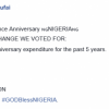 Last 5 years Independence Day expenditure, Nasir El-Rufai compares