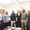 Arsene Wenger reunited with Kanu Nwankwo, as Arsenal signs two Nigerian teenagers