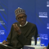 "'Don't Apologize, Just Return Our Money"" President Buhari tells Cameron (watch)"