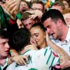 #EURO2016: Picture of Ireland Player 'Robbie Brady' Kiss His Girlfriend after Defeating Italy Goes Viral