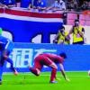 VIDEO: Former Chelsea striker Demba Ba breaks leg in Chinese Super League