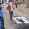 GRAPHIC: Photos from the suicide attack in Borno state