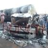 PHOTOS: Fuel tanker explodes in Edo