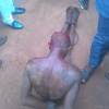 Thieves who tried to steal motorcycles get mobbed by angry worshipers in Anambra (Photos)